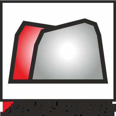 Konische Metallstege bei Bridgestone Baggerketten