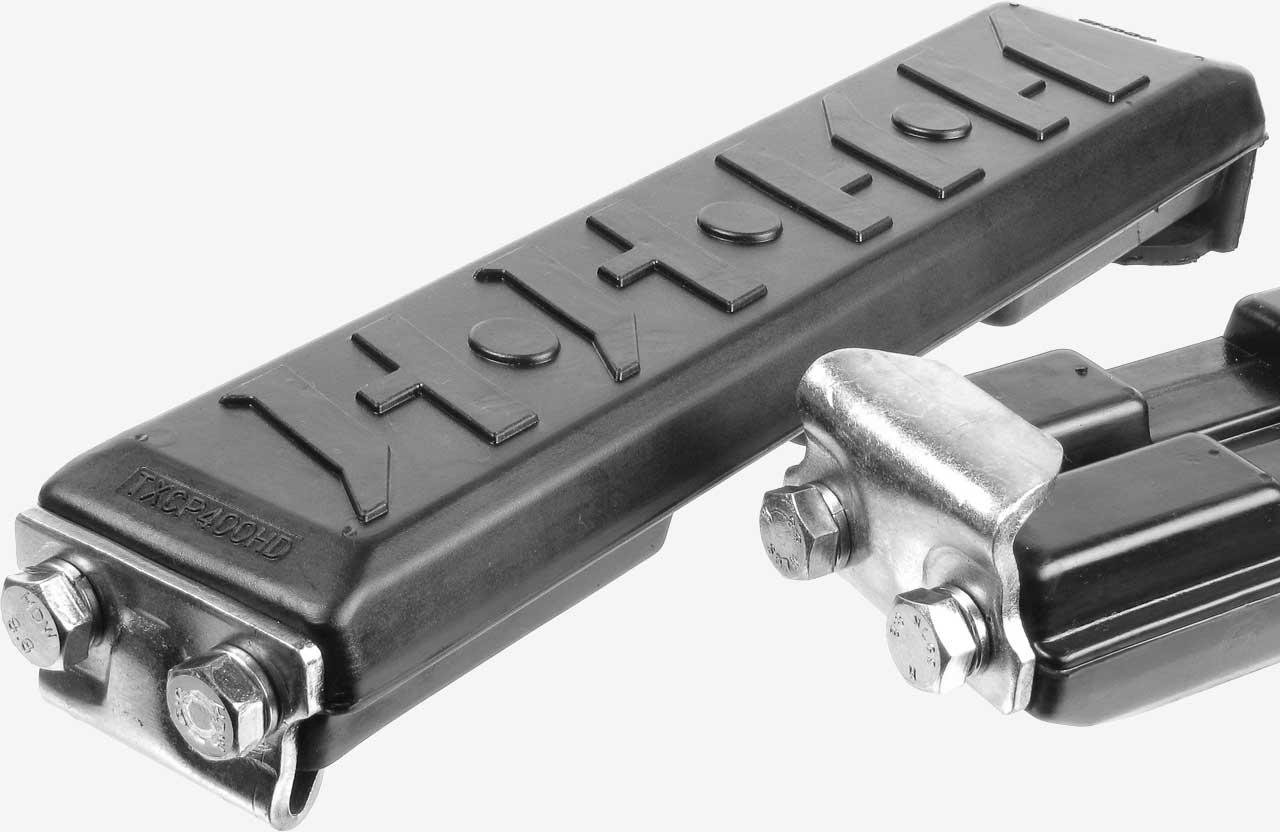 Clip On Pads - Gummibodenplatten zum Aufclipen auf die Stahlbodenplatte