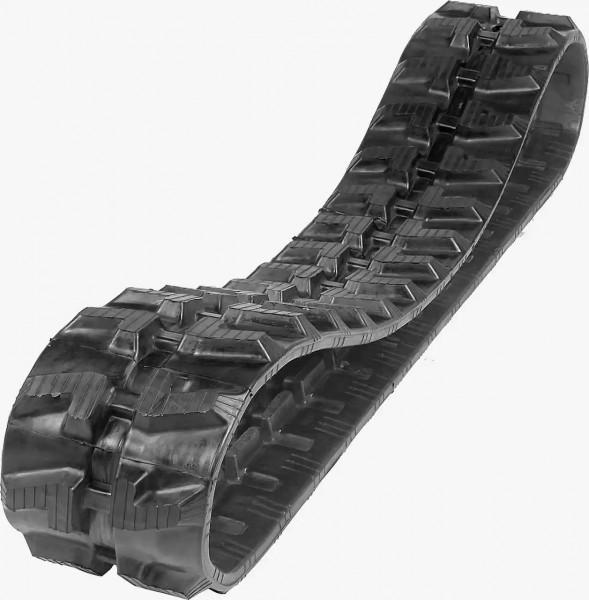 Abbildung zeigt die Gummikette TAGEX 230x33x96. EIne Long-Pitch Baggerkette.